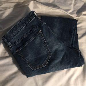 Uniqlo skinny mid rise jeans